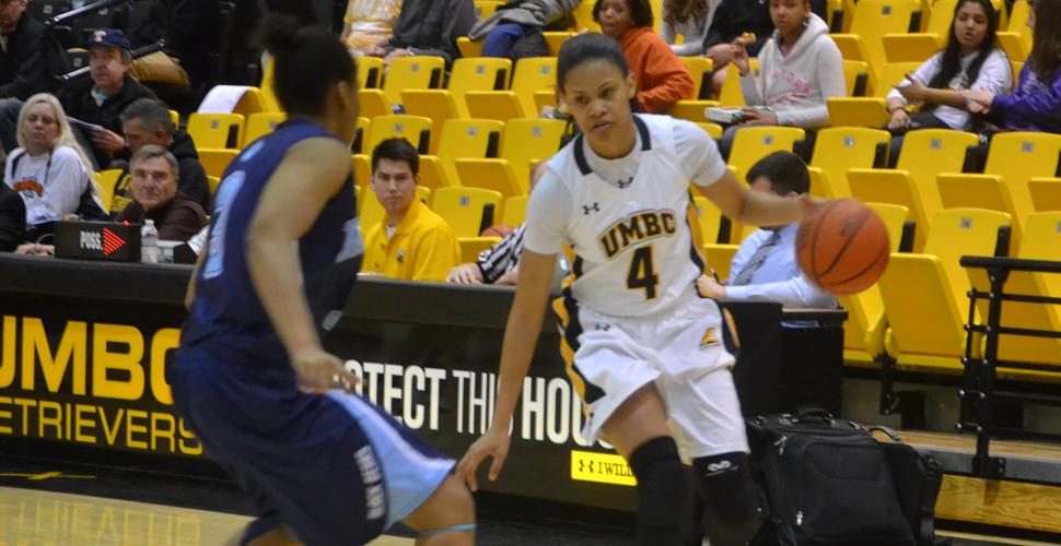 Program's First Triple-Double From McCarley Guides UMBC to Double Overtime Victory Over Binghamton, 66-60