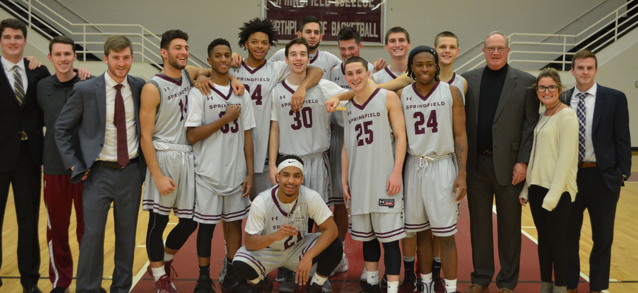 Men's Basketball Topples Connecticut College To Win Hampton Inn West Springfield/Naismith Classic
