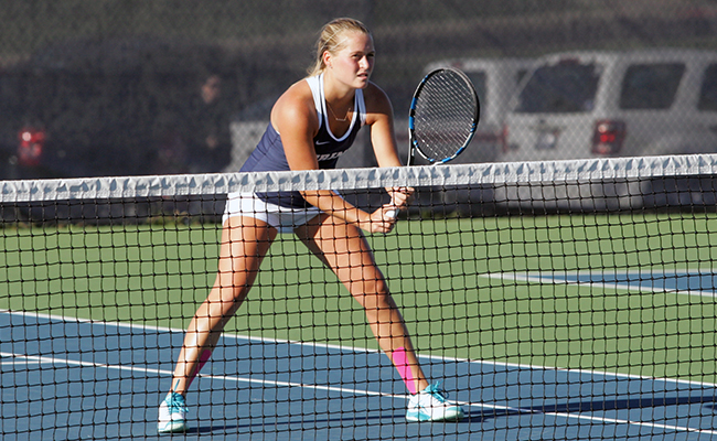 Women's Tennis Rebounds with Victory over Alma