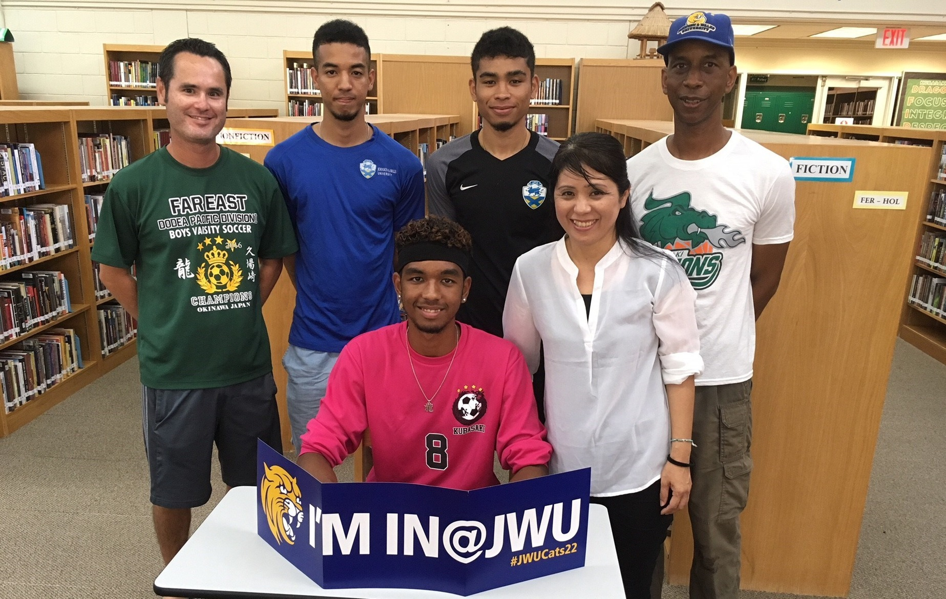 ILijah Washington Joins Brothers On The Pitch at JWU