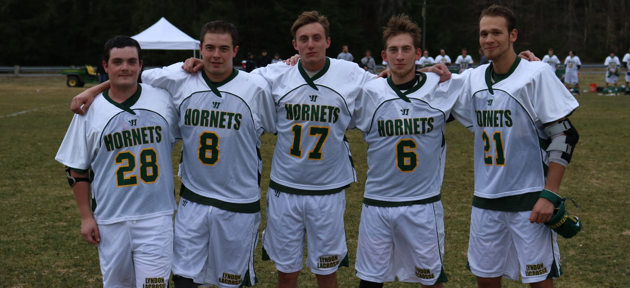 Hornets Victorious on Senior Day