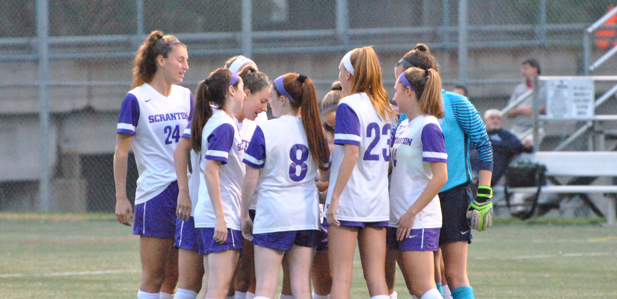 The women's soccer team battled NYU to a scoreless draw on Tuesday night.