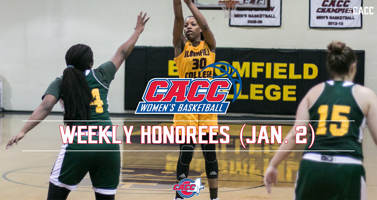 CACC Women's Basketball Weekly Honorees (Jan. 2)