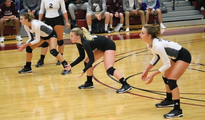 Volleyball Slated to Finish Sixth in the MIAA