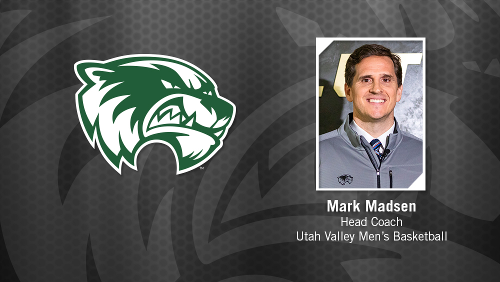 NBA Champion Mark Madsen Named Utah Valley Men's Basketball Head Coach