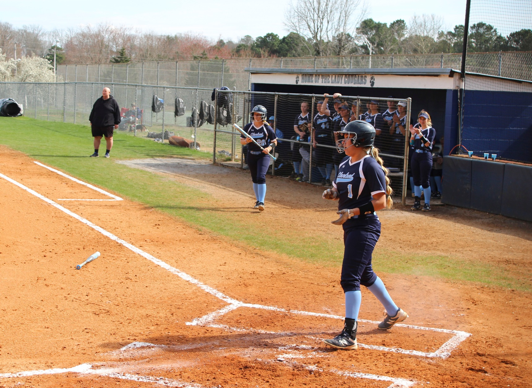 Softball Splits Series with Snead