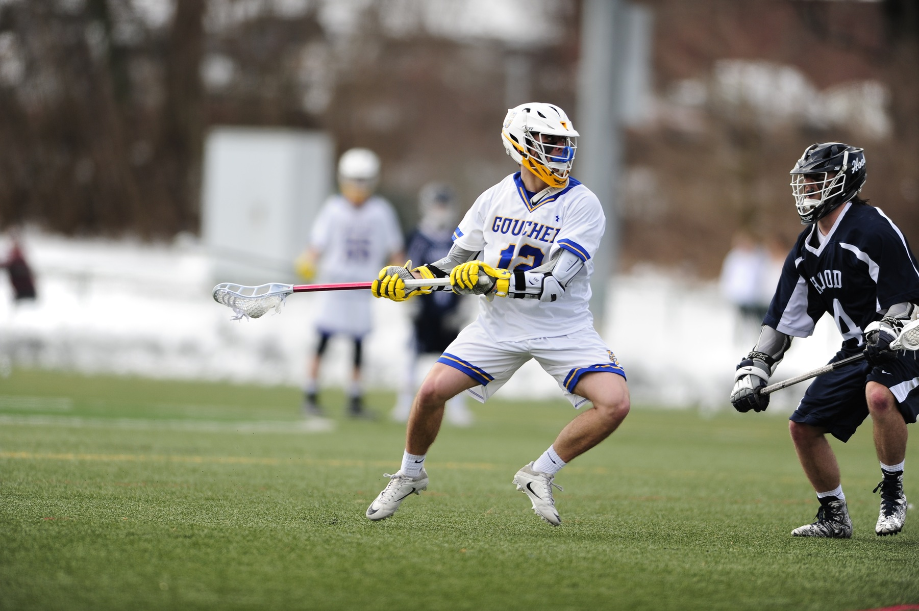 Sade Tallies Hat Trick in Men's Lacrosse's Loss to Susquehanna