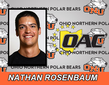 Nathan Rosenbaum leads Men's Indoor Track & Field on first day of 2015 OAC Championships