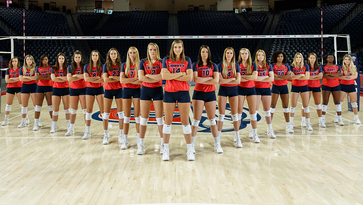 Liberty Volleyball to Host the 1st and 2nd Rounds of the NIVC, Saturday and Sunday