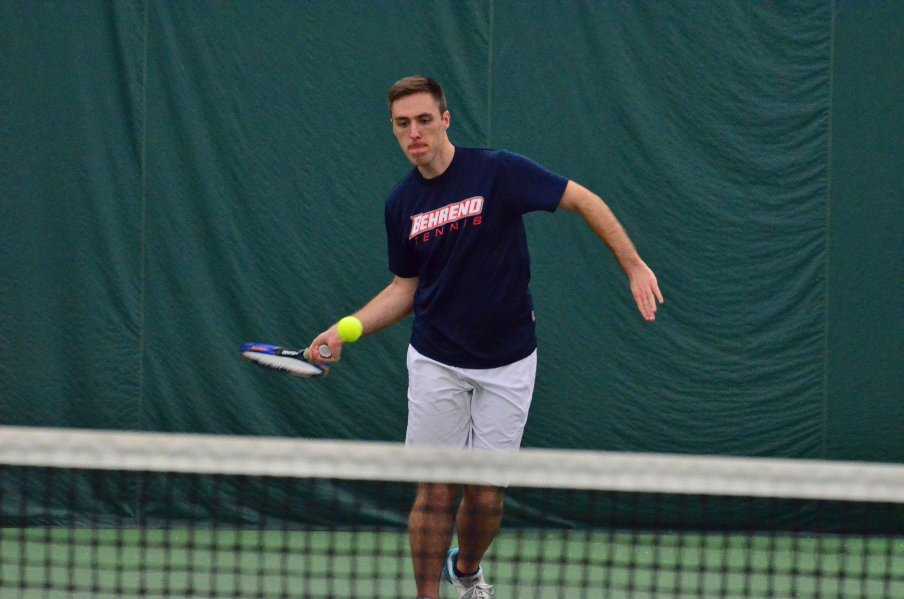 Houghton Too Much For Men's Tennis