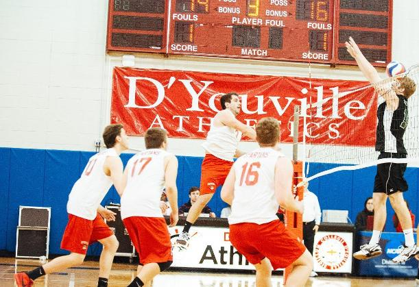 Men's Volleyball Splits Opening Day of Season At Kean Tournament