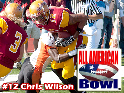 Chris Wilson To Compete In All American Bowl