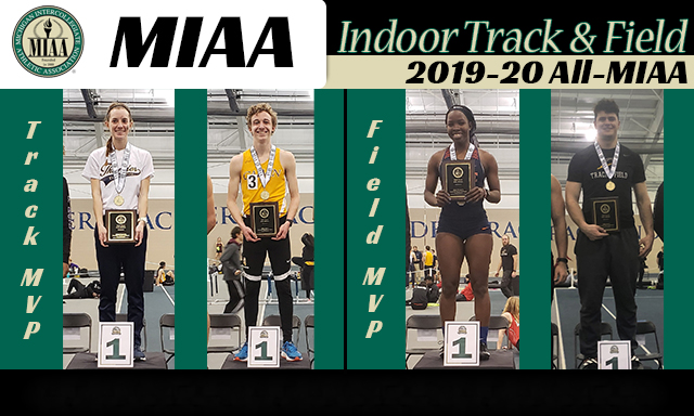 All-MIAA - Men's Indoor Track & Field - 2020