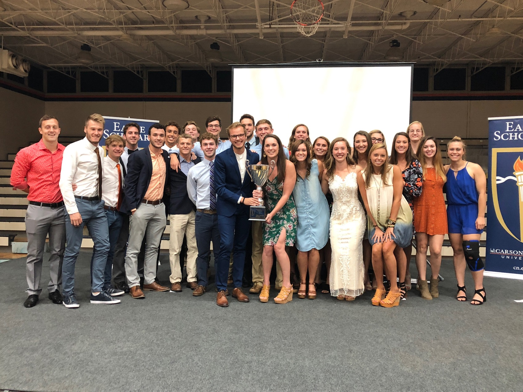 The Carson-Newman swim program laid claim to the Director's Cup for the 2018-19 school year