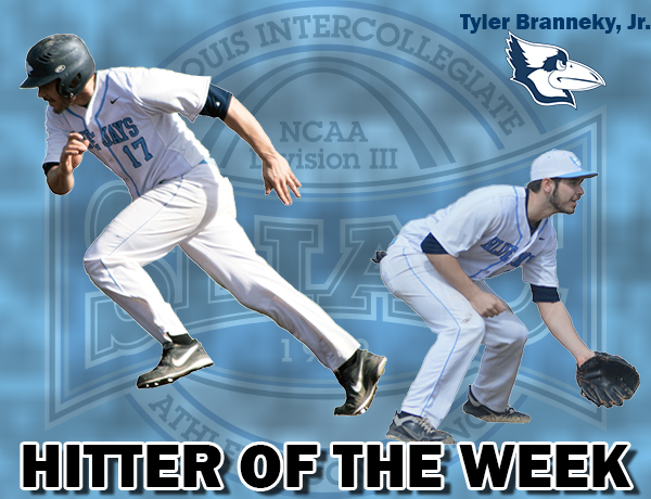 Tyler Branneky Named SLIAC/Diamond Sports Hitter of the Week