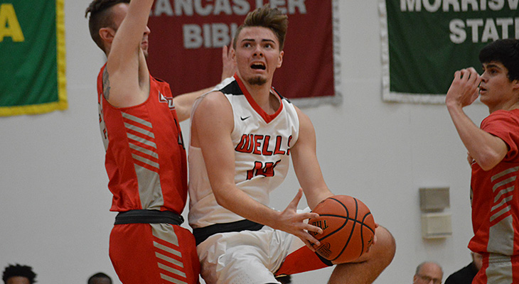Caz Wins Back-And-Forth Game Over Wells Men's Basketball