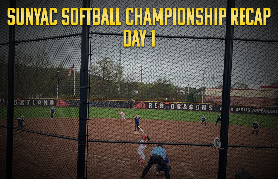 SUNYAC Softball Championship Day 1 Recap
