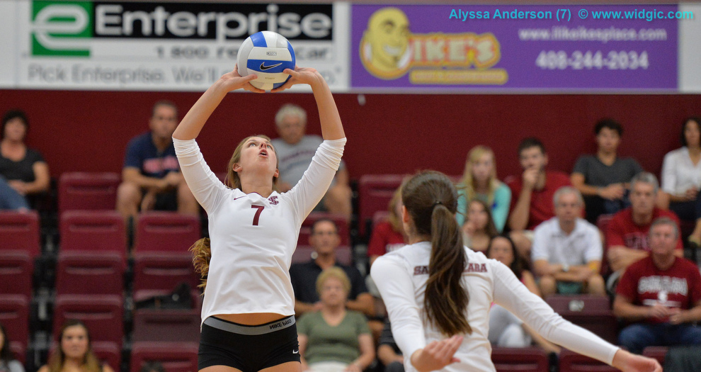 Volleyball Falls In Four to Gonzaga