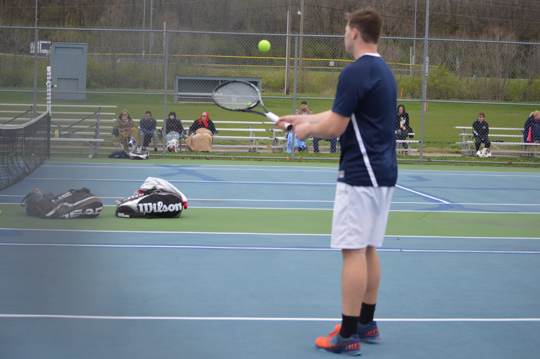 Men's Tennis Finishes Non-Conference Season