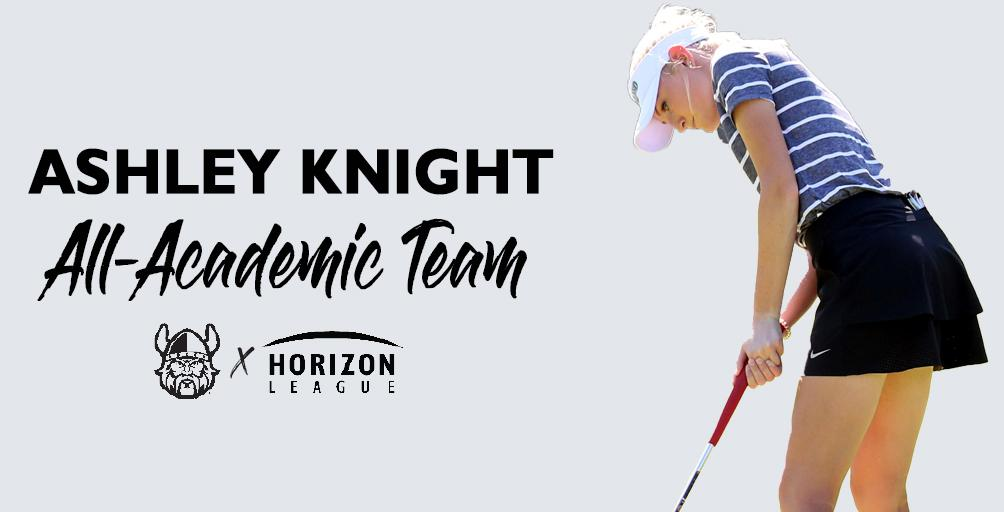 Knight Named to 2020 GEICO #HLGolf All-Academic Team