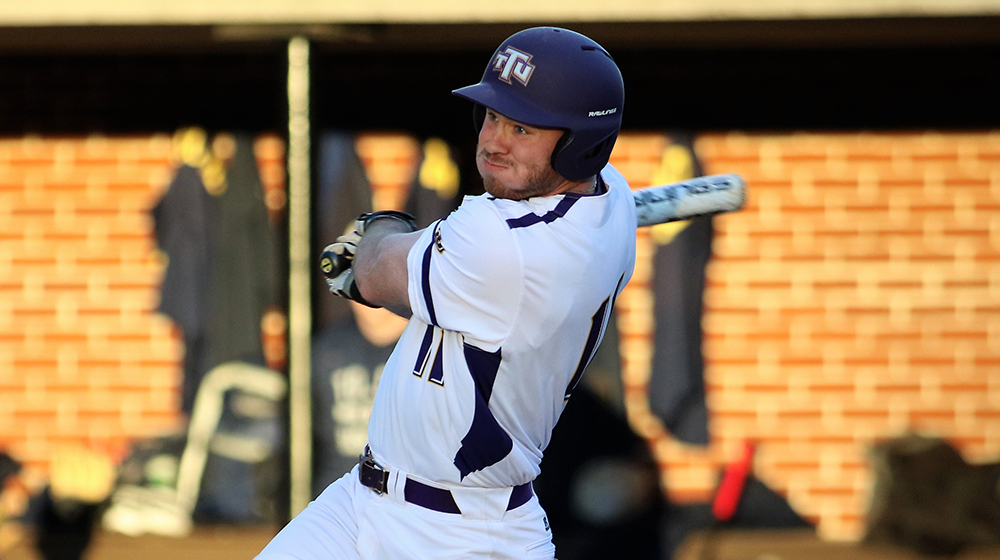 Bats stay hot, pitching dominates as Golden Eagles down Alabama A&M, 17-3