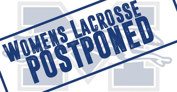 Women's lacrosse match postponed