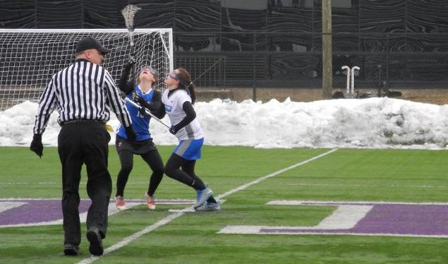 Falcons Fall to Rivier 24-1 in Women's Lacrosse