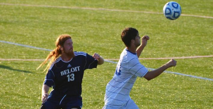 Beloit edges CUW men's soccer in 2 OTs
