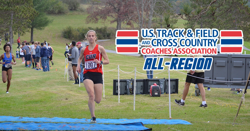 Lyons Earns USTFCCCA All-Region Accolade