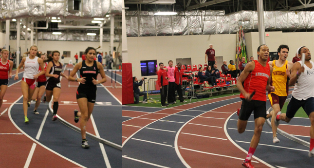 Track and Field Teams Square Off Against Division I Schools