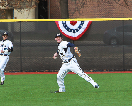 Gallaudet's William Bissell selected to the D3baseball.com Team of the Week