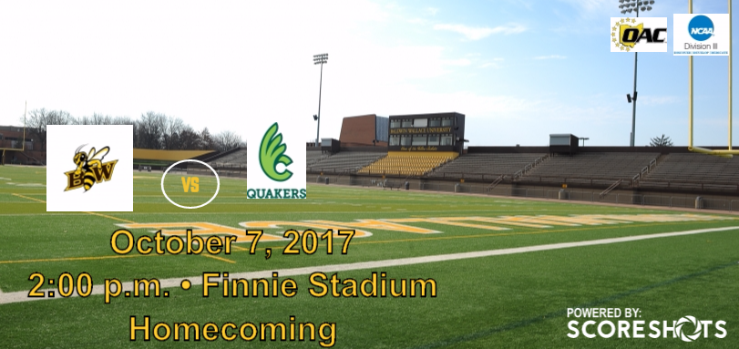 Football Hosts Wilmington on Homecoming