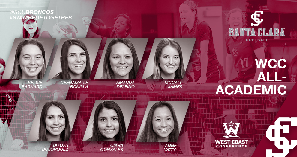 Seven Softball Players Honored for Academic Success
