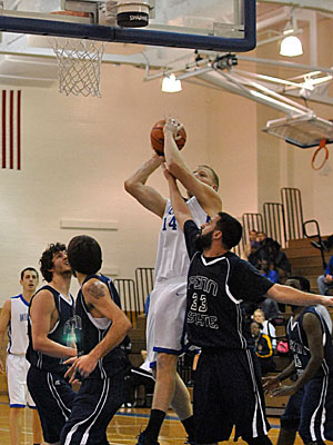 Men's Basketball: Wilkes Barre Rebounds Strong in 78-63 Win Over Penn College
