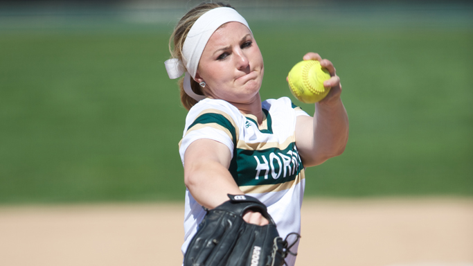 YERBY THROWS A SIX-HIT SHUTOUT, SOFTBALL SPLITS WITH PRINCETON