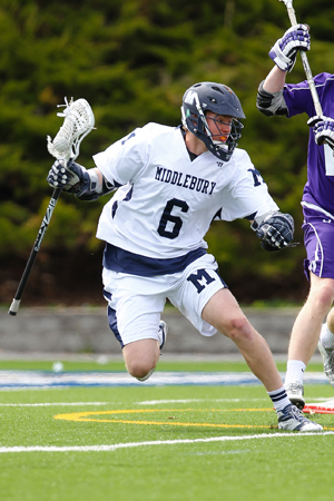 Men's Lacrosse Earns Road Win At Colby - Broome Ties School Mark