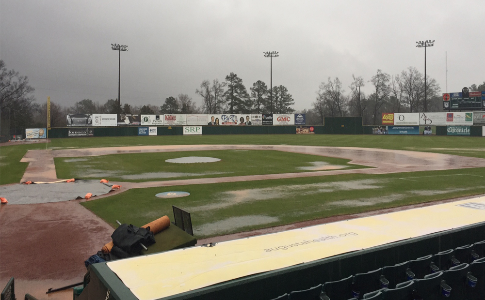 Foul Weather Washes Out Game Between Jags And Paine College