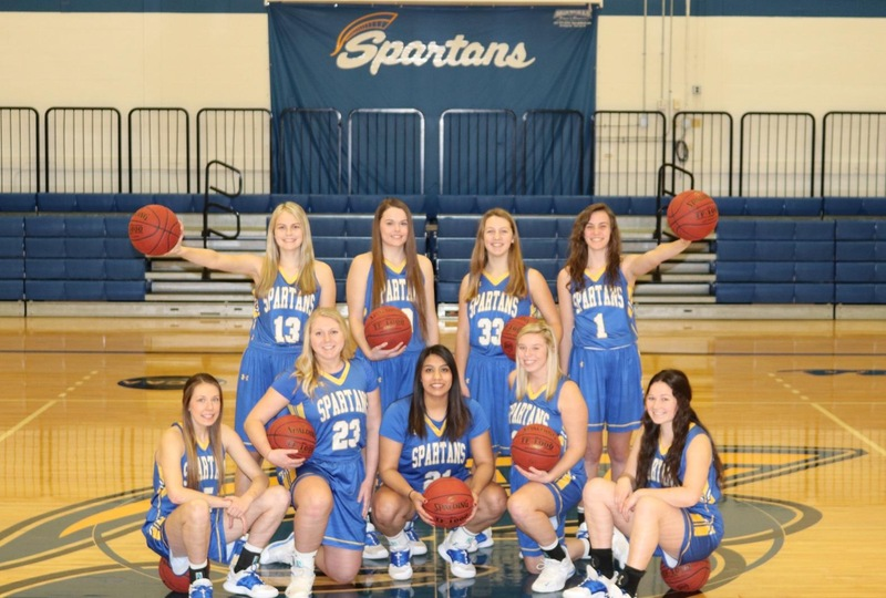 Lady Spartans Fall in Final Home Game