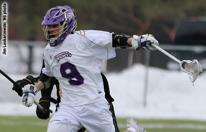 Men's lacrosse falls at No. 2 Le Moyne, defending NCAA Division II national champion