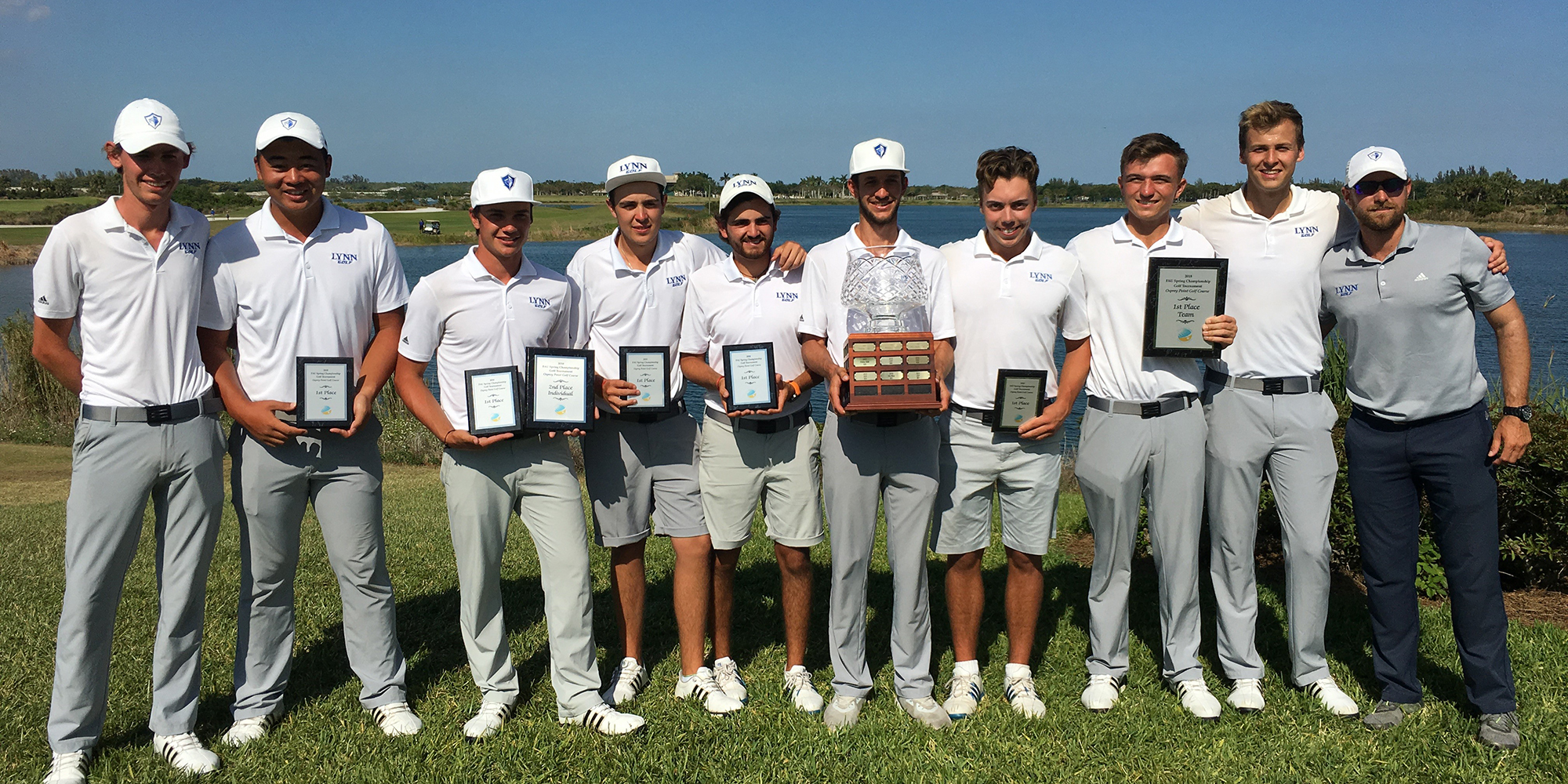 Men's Golf Shows-Up Division I Opponents in FAU Spring Championship Victory