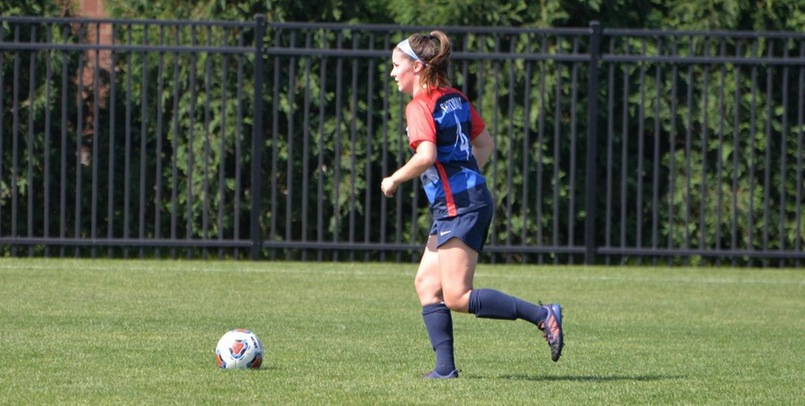 Carlee Davis's first career goal was the game-winner on Saturday afternoon against Ashland...