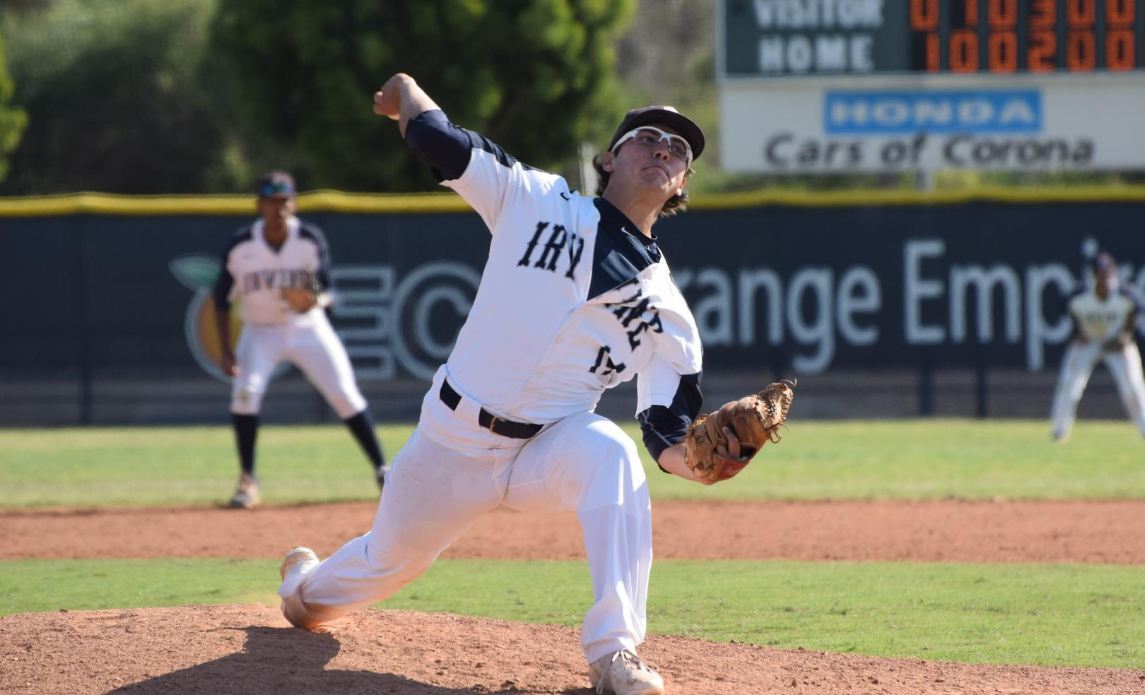 Baseball team drops second game of series to Orange Coast