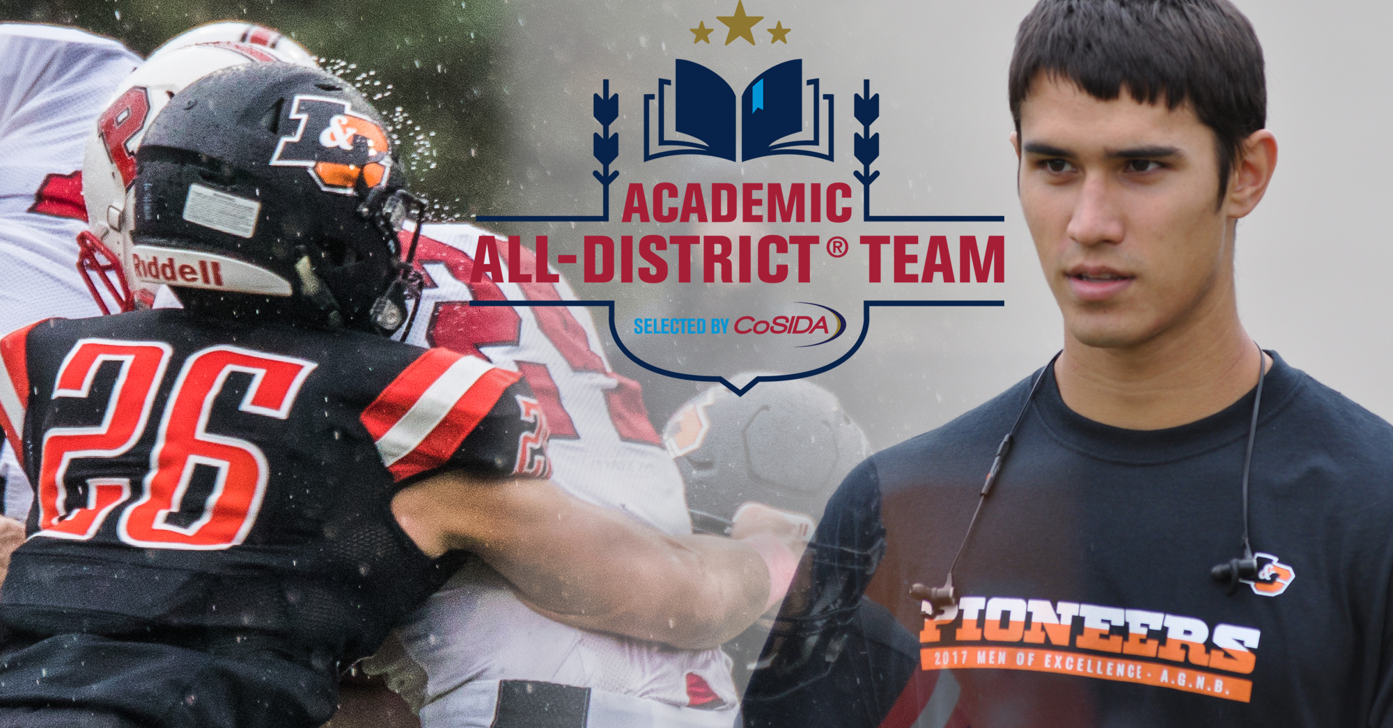 Lahti chosen CoSIDA Academic All-District