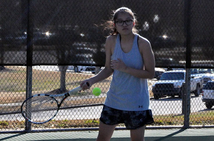 Women's Tennis: Panthers blank Ferrum to complete perfect weekend
