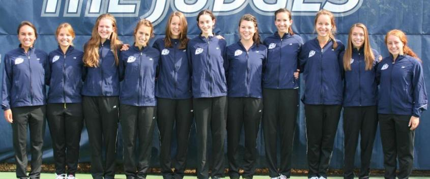 The women's cross country team topped Southern Maine in their season opener.