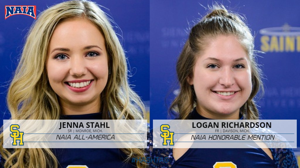 Jenna Stahl Named NAIA All-America; Logan Richardson Honorable Mention
