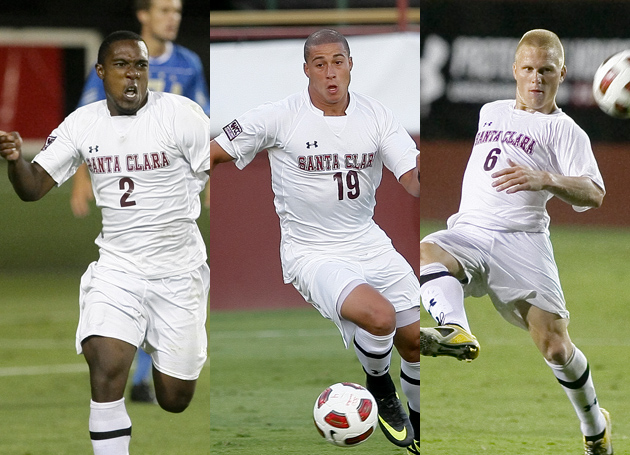 Eight Broncos Named Among WCC Men's Soccer Top Performers for 2011