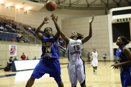 Lady 'Canes win big against Truett-McConnell, 99-60