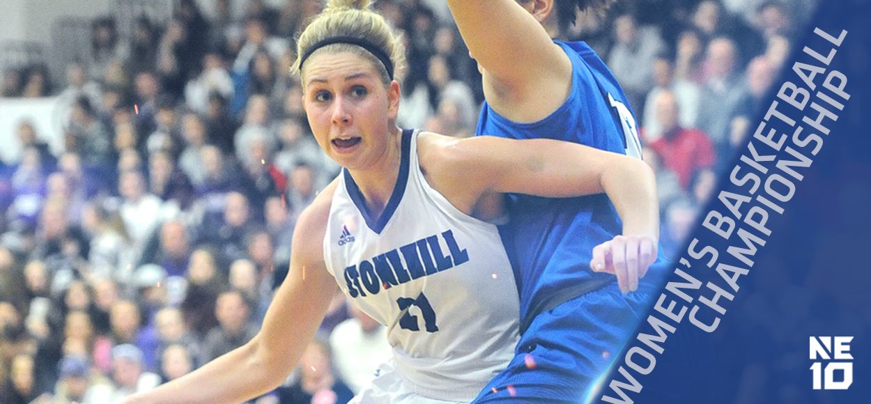 Embrace The Championship: Bentley, Stonehill to Meet in NE10 Women's Basketball Championship Game