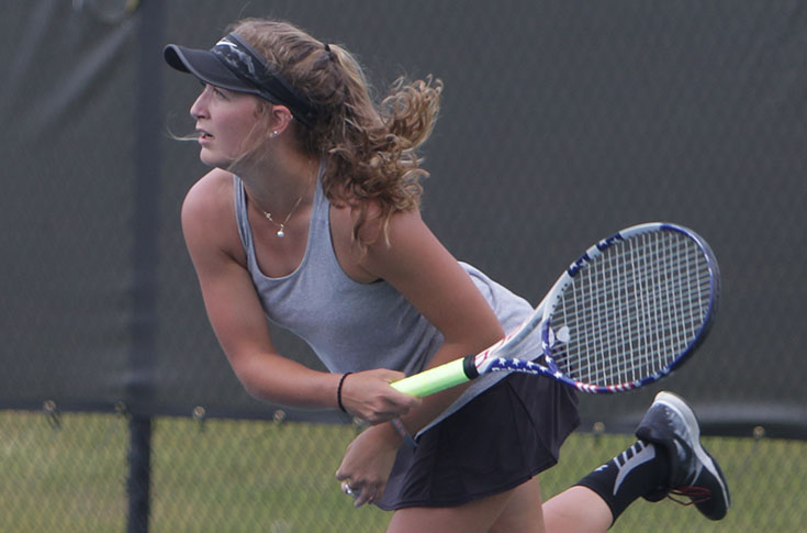 Women's Tennis: Panthers fall to Methodist in first round of USA South Tournament
